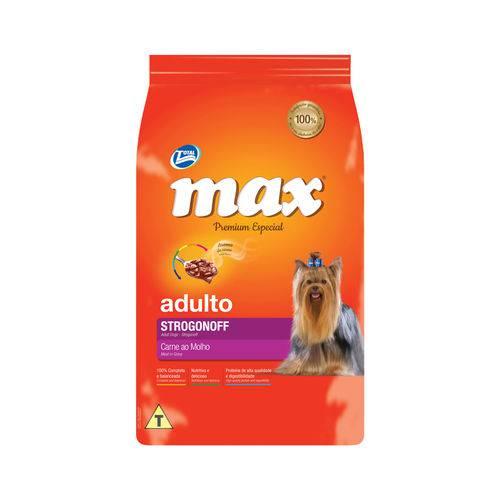 Ração Max Strogonoff para Cães Adultos Sabor Carne ao Molho - 15kg