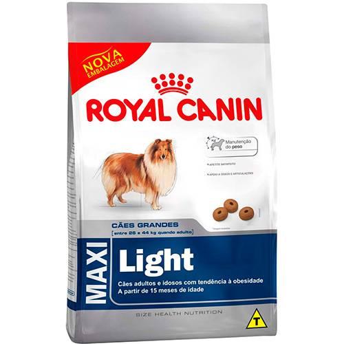 Ração Maxi Light 15kg - Royal Canin