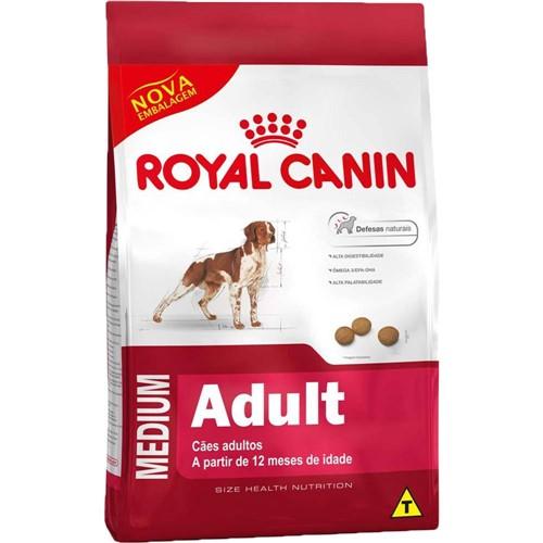 Ração Medium Adult 15kg - Royal Canin
