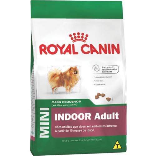 Ração Mini Indoor Adult 7,5Kg - Royal Canin