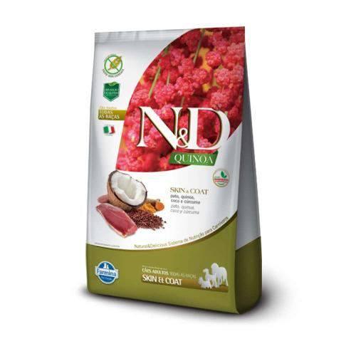 Ração N&d Quinoa Skin & Coat Cães Adultos Pato 2,5kg