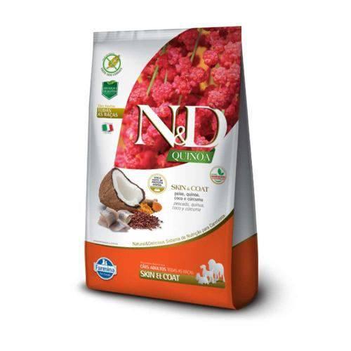 Ração N&d Quinoa Skin & Coat Cães Adultos Peixe 10,1k