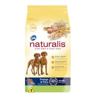 Ração Naturalis Cães Adultos Frango & Peru 15kg