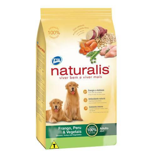 Ração Naturalis Cães Adultos Frango, Peru & Vegetais 2kg