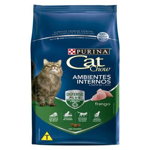 Ração Nestlé Purina Cat Chow para Gatos Ambientes Internos Sabor Frango - 10,1kg