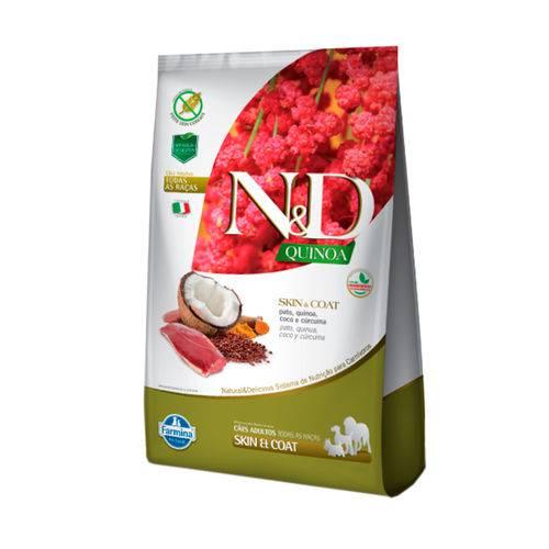 Ração Quinoa N&D para Cães Skin & Coat Sabor Cordeiro - 800g