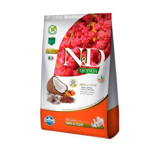 Ração Quinoa N&D para Cães Skin & Coat Sabor Peixe - 800g