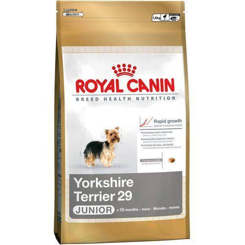 Ração Raças Específicas Yorkshire Terrier Junior Royal Canin - 1 Kg