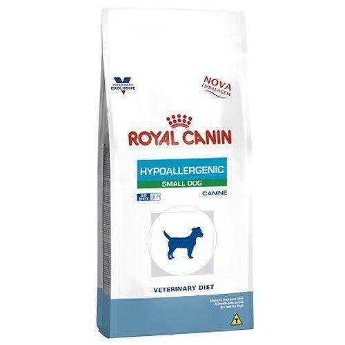 Ração Royal Canin Canine Veterinary Diet Hypoallergenic Small Dog