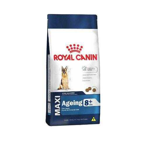 Ração Royal Canin Maxi 8+ Cães Adultos - 15kg