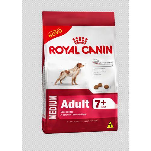 Ração Royal Canin Medium Adult 7+ 15kg