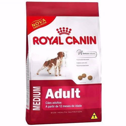 Ração Royal Canin Medium Adult para Cães Raças Médias 15kg