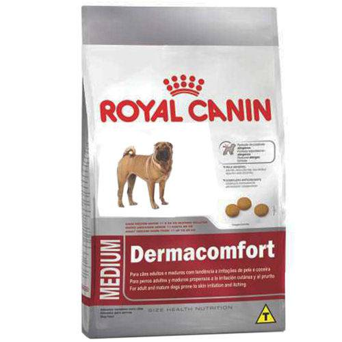 Ração Royal Canin Medium Dermacomfort Cães Adultos Porte Médio Irritações de Pele e Coceira - 2 Kg