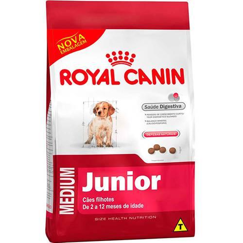 Ração Royal Canin Medium Junior para Cães Filhotes de Raças Médias - 15kg