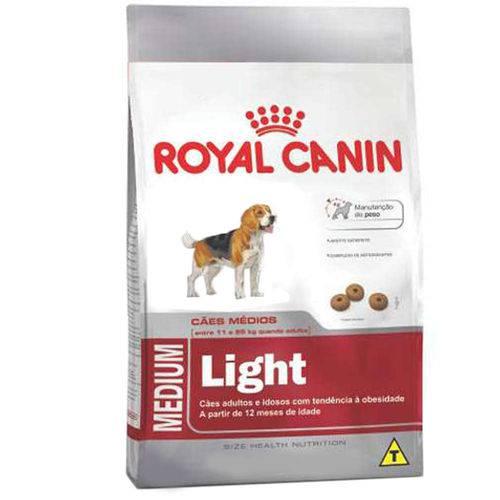 Ração Royal Canin Medium Light para Cães Adultos de Porte Médio com Tendência à Obesidade - 2,5 Kg