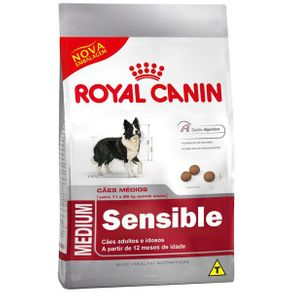 Ração Royal Canin Medium Sensible 3 Kg