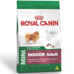 Ração Royal Canin Mini Indoor Adult 1 Kg