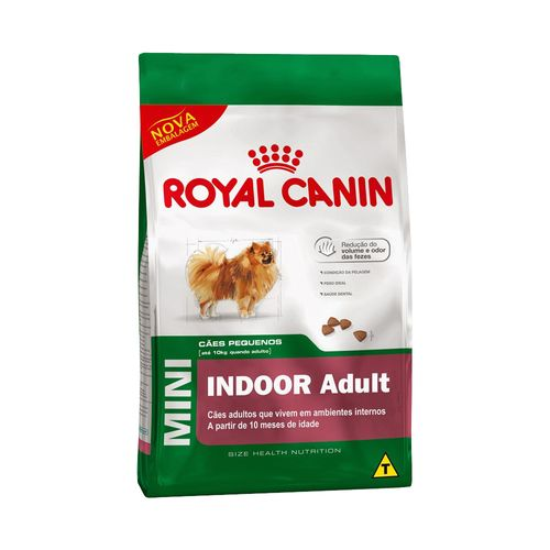 Ração Royal Canin Mini Indoor Adult 1kg