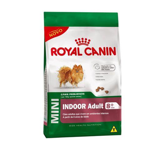 Ração Royal Canin Mini Indoor Adult 8+ 1kg