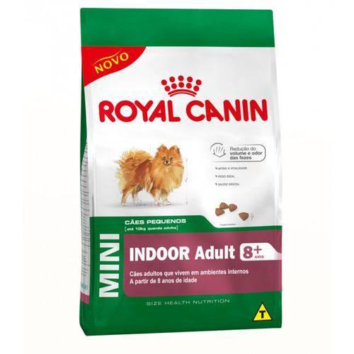 Ração Royal Canin Mini Indoor Adulto 8+-2,5 Kg