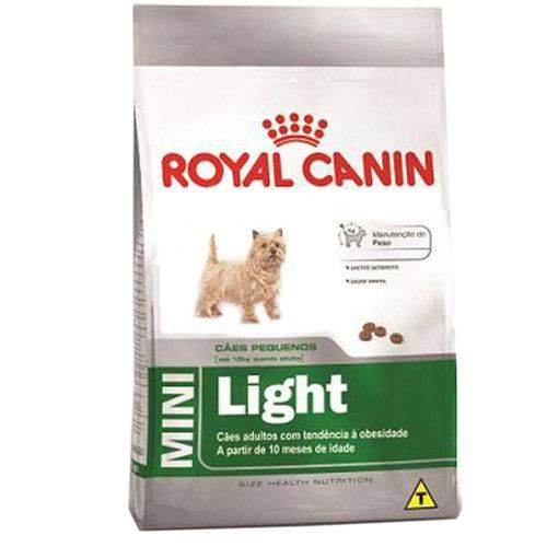 Ração Royal Canin Mini Light para Cães Adultos de Porte Pequeno com Tendência à Obesidade - 2,5 Kg