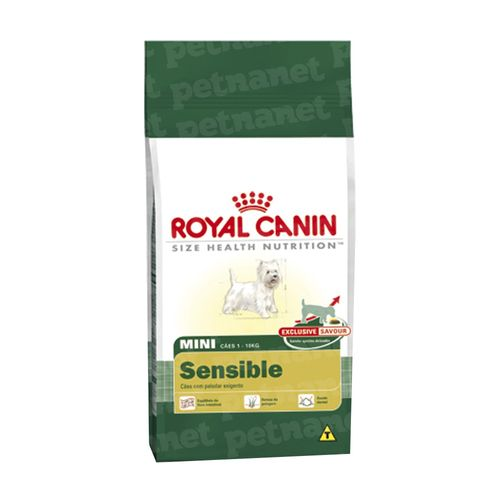 Ração Royal Canin Mini Sensible 30 - 7,5Kg 7,5kg