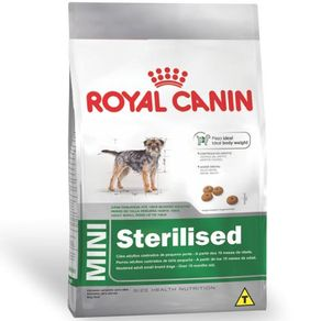 Ração Royal Canin Mini Sterilized 1kg
