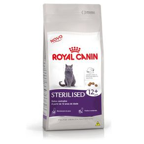 Ração Royal Canin Sterilised 12+ 1,5 Kg