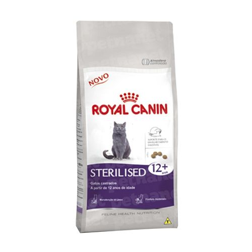 Ração Royal Canin Sterilised 12+ 1,5Kg