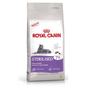 Ração Royal Canin Sterilised 7+ 7,5 Kg