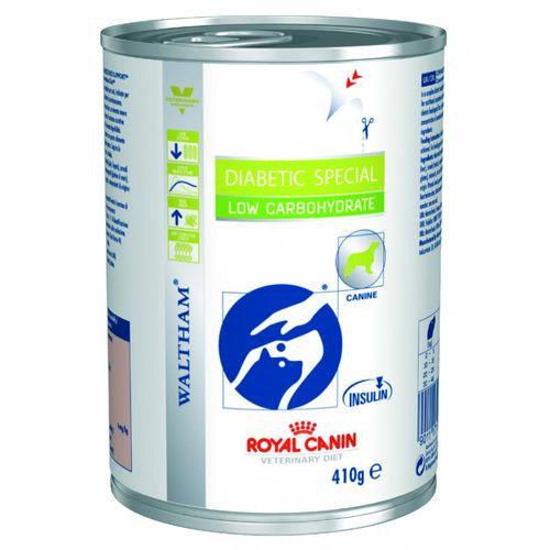 Ração Royal Canin Vet. Diet. Diabetic Special Low Carbohydrate Lata - 410g 410g