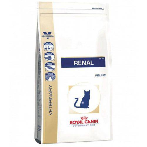 Ração Royal Canin Veterinary Feline Diet Renal - 1,5kg