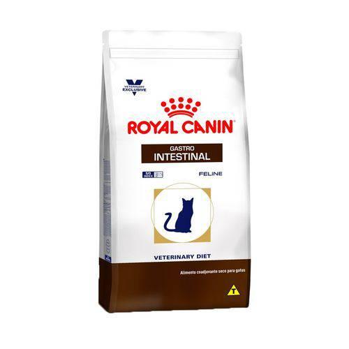 Ração Royal Canin Veterinary Gastro Intestinal para Gatos Adultos 1,5kg