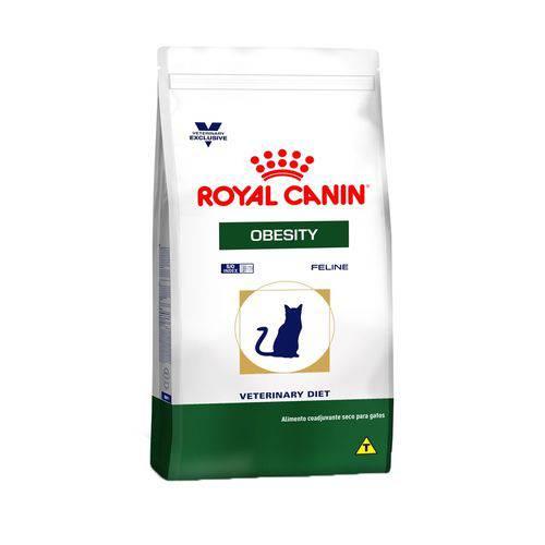 Ração Royal Canin Veterinary Obesity - Gatos Adultos - 1,5 Kg