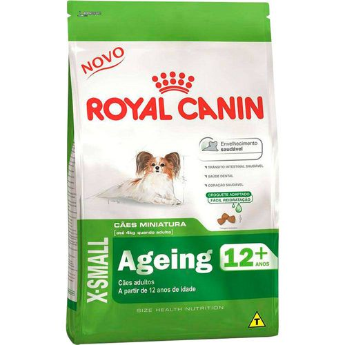 Ração Royal Canin X-Small Ageing 12+ para Cães Sênior de Raças Pequenas 2,5kg