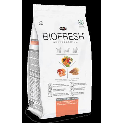 Ração Super Premium Hercosul Biofresh para Cães Adultos Castrados de Raças de Pequenas 1kg