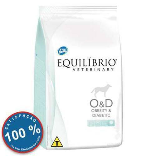 Ração Total Equilíbrio Veterinary Obesity Diabetic para Cães com Problemas de Obeside - 2kg