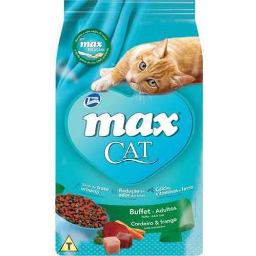 Ração Total Max Cat Buffet Cordeiro e Frango para Gatos Adultos - 20kg