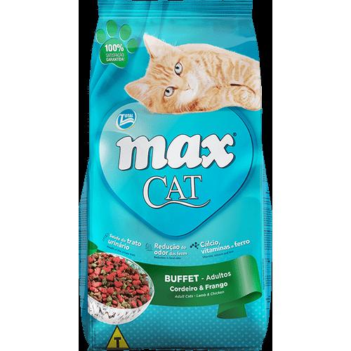 Ração Total Max Cat Buffet para Gatos Adultos 20kg