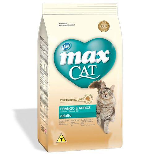 Ração Total Max Cat Professional Line Sabor Frango e Arroz para Gatos Adultos 10,1kg