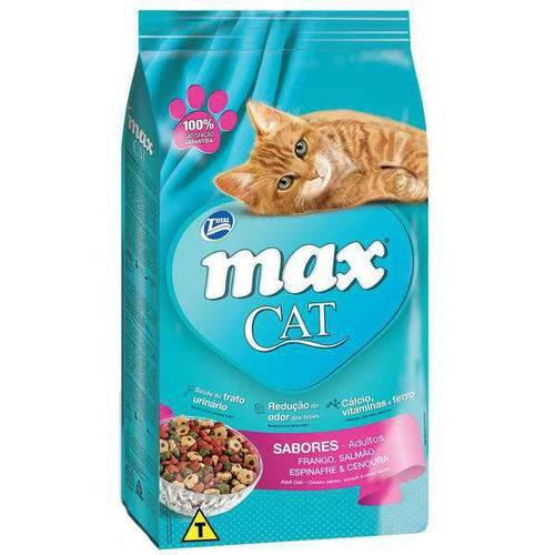 Ração Total Max Cat Sabores para Gatos 20kg