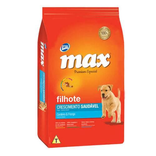 Ração Total Max Cordeiro e Frango para Cães Filhotes - 10,1 Kg