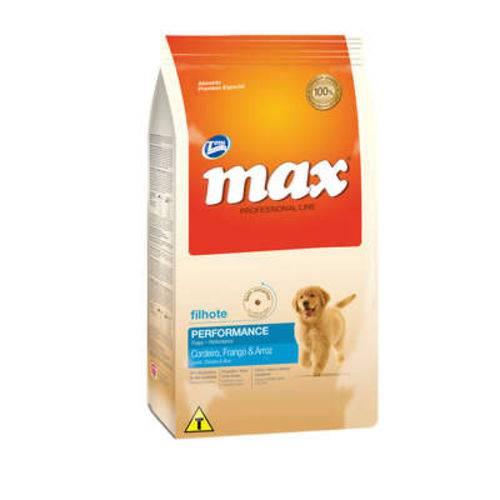 Ração Total Max Cordeiro Frango e Arroz para Cães Filhotes - 15 Kg