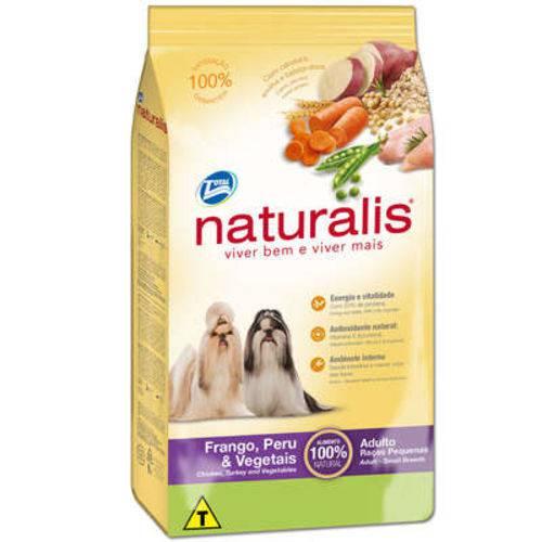 Ração Total Naturalis Frango,peru e Vegetais para Cães Adultos Raças Pequenas - 15 Kg