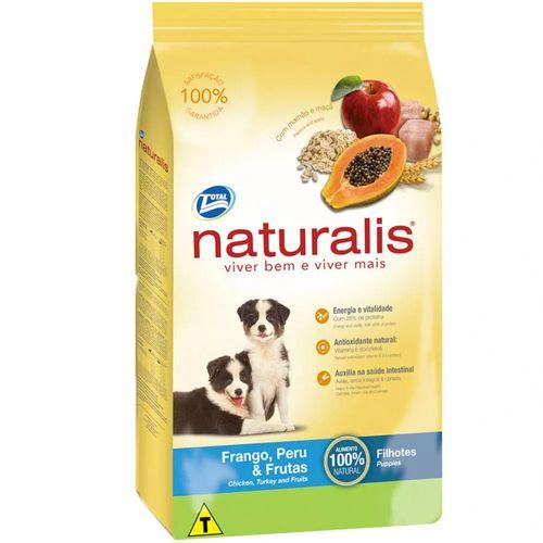 Ração Total Naturalis Sabor Frango, Peru e Frutas para Cães Filhotes 2kg