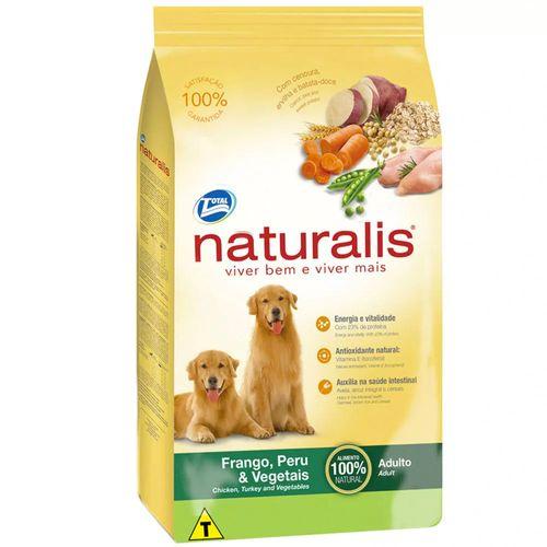 Ração Total Naturalis Sabor Frango, Peru e Vegetais para Cães Adultos 2kg