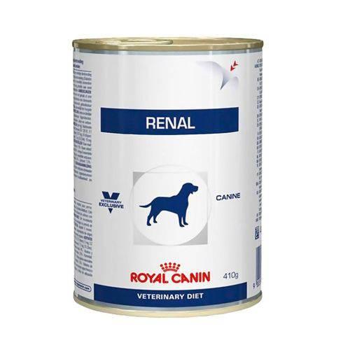 Ração Úmida Royal Canin Lata Veterinary Renal - Cães Adultos - 410 G