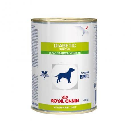 Ração Úmida Royal Canin Vet Diet Canine Diabetic Special Low