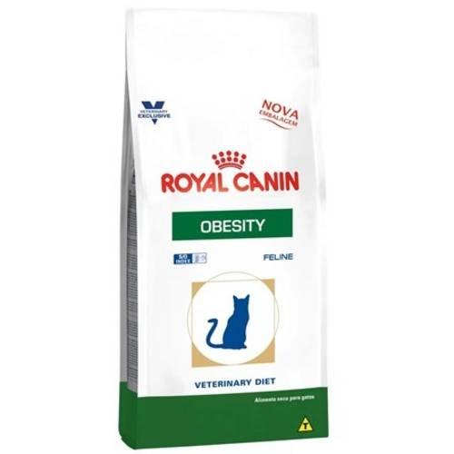 Ração Veterinary Feline Diet Obesity 1,5kg - Royal Canin