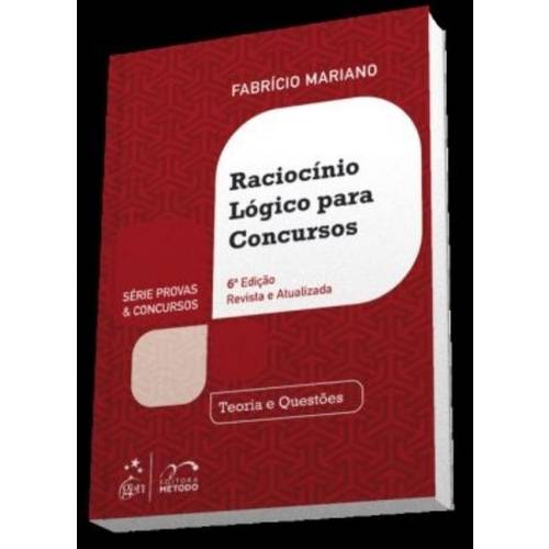 Raciocinio Logico para Concursos (6 Ed/2015)